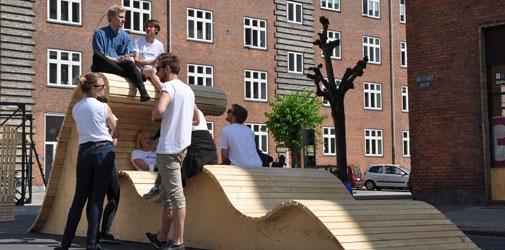 Landskabsarkitekt-studerende vandt konkurrence om byrumsmøbler ...