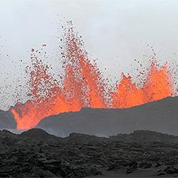Vulkanen Bárðarbunga. Foto: Rob Askew