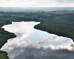 Landskabet omkring Hald Sø ved Viborg. Foto: Jørgen Primdahl